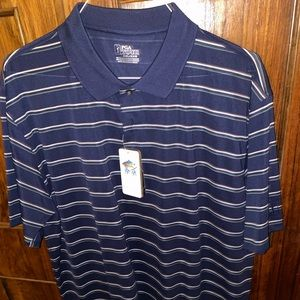 "Men's ""Medieval Blue"" Short Sleeve Golf Shirt"